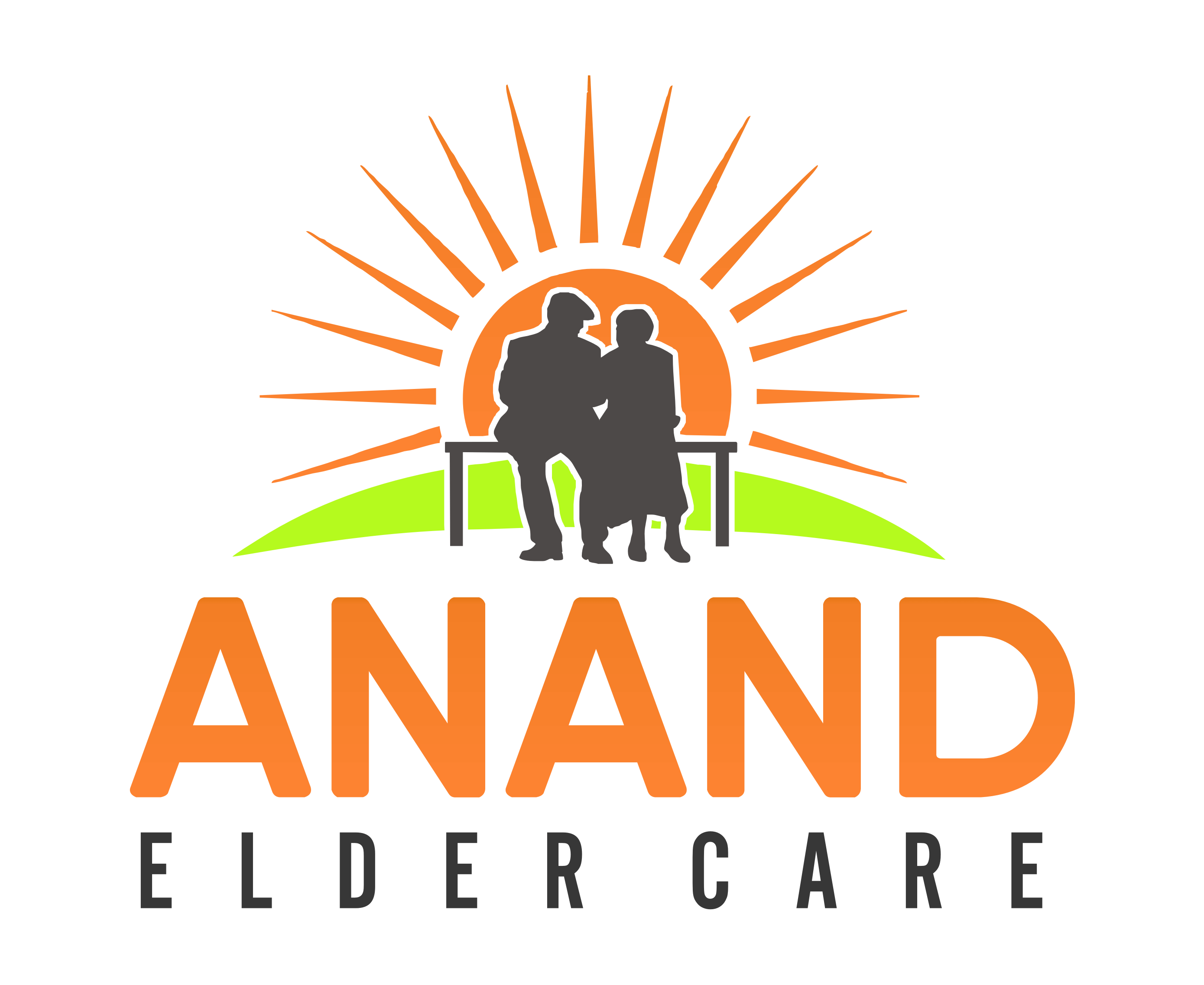 Anand Elder Care Logo , Techno Code LLP