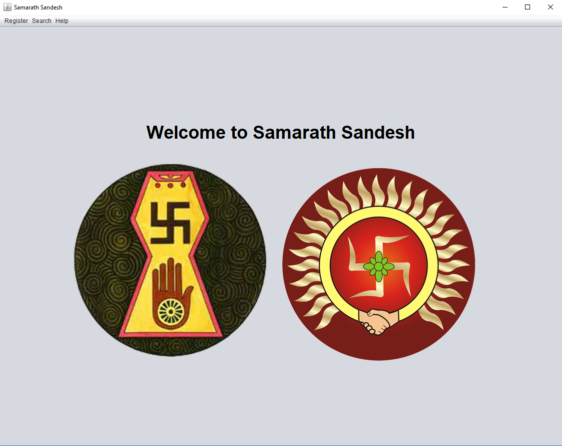 Samarath Sandesh Jain Java Application, Techno Code LLP
