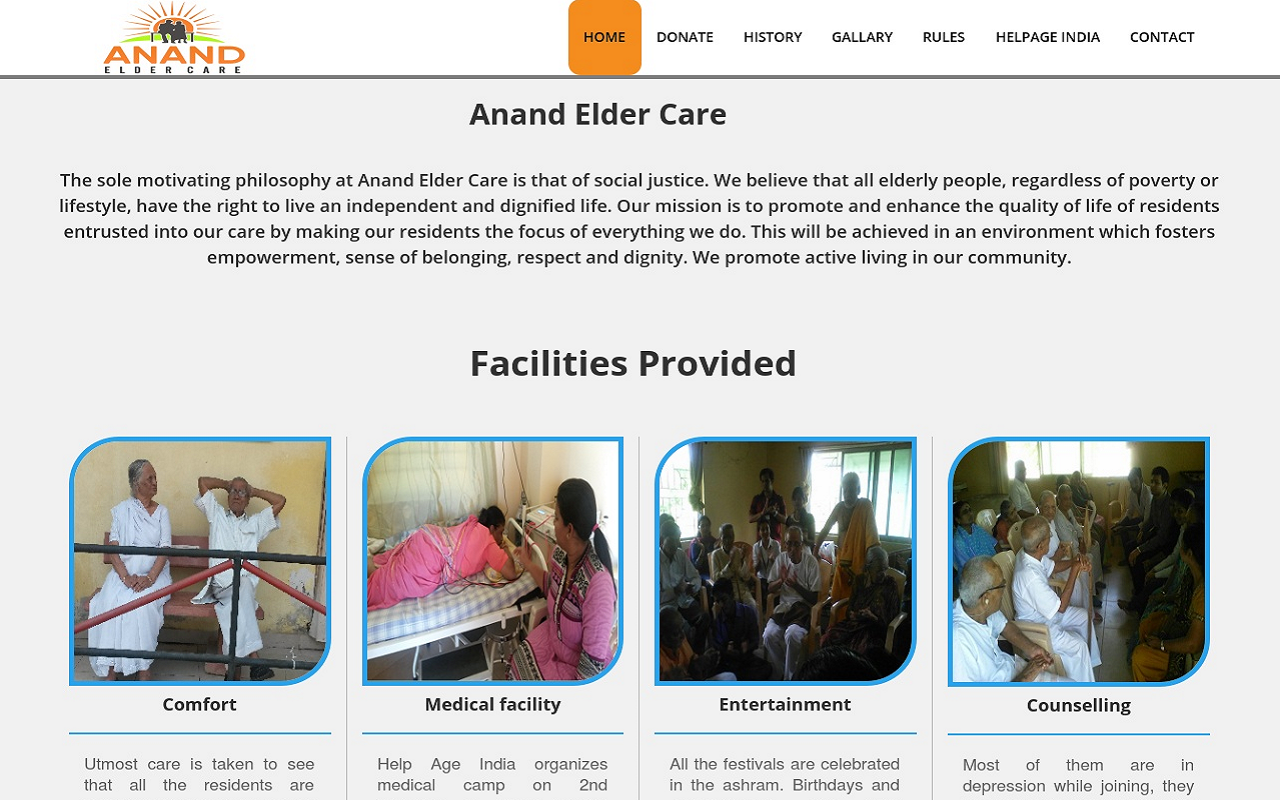 Anand Elder Care , Techno Code LLP